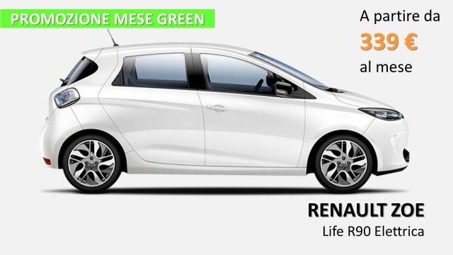 Renault Zoe nuova Life R90 - PROMOZIONE GREEN elettrica Rif. 9857060