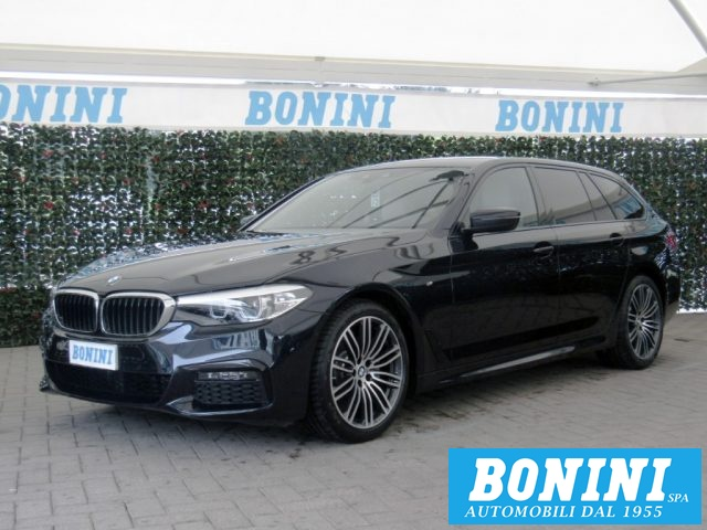 BMW 520 Blu scuro metallizzato
