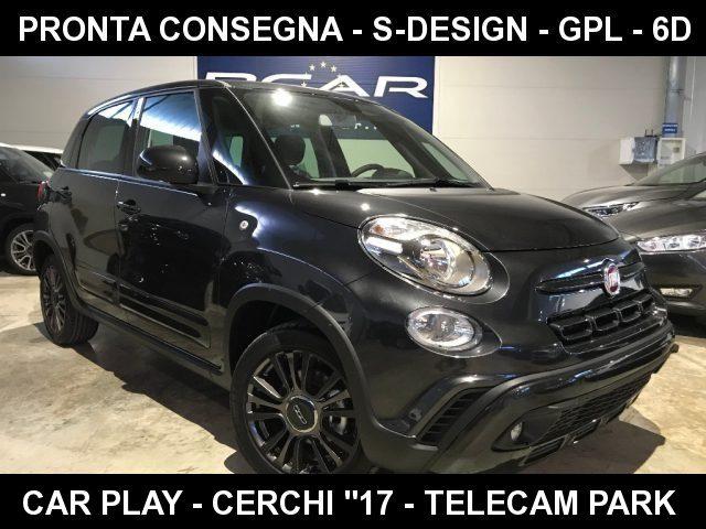 """Fiat 500l km 0 1.4 95 CV GPL S-Design Cross +CarPlay+Tel Park+""""17 a gpl Rif. 9977768"""