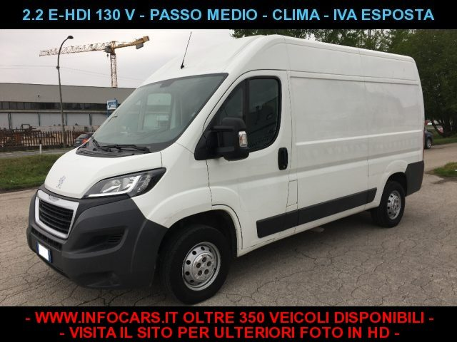 Peugeot Boxer usata 330 2.2 e-HDi 130CV Furgone PASSO MEDIO diesel Rif. 10058000