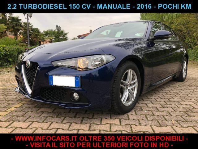 Alfa Romeo Giulia usata 2.2 Turbodiesel 150 CV 37.000 KM diesel Rif. 10036230