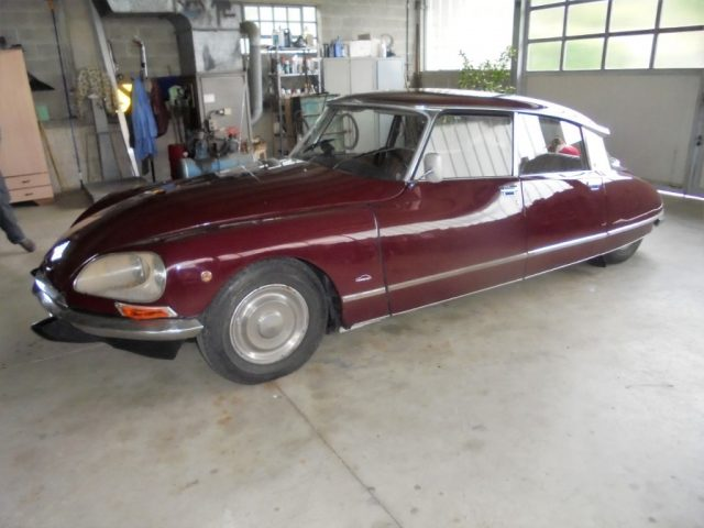OLDTIMER Citroen DS21