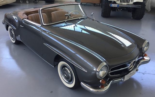 Mercedes-benz 190 d'poca SL ROADSTER a benzina Rif. 11769977