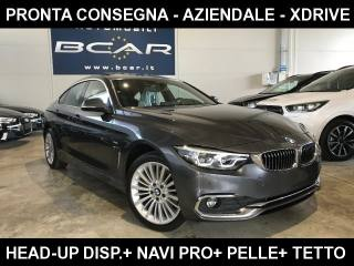 BMW 420 D XDrive Gran Coupé Luxury +Navi Pro+Pelle Msport Usata