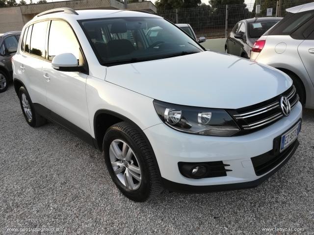 Volkswagen Tiguan usata 2.0TDi Bluemotion 110CV con Gancio Traino Rif. 10269603