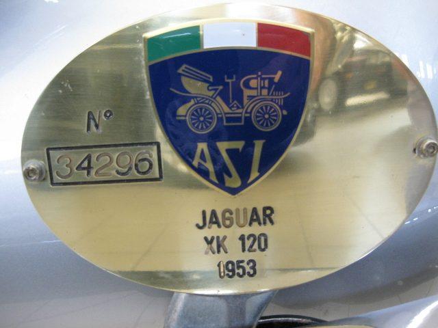 Immagine di JAGUAR XK 120 SE OTS Roadster 182cv TARGA ORO ASI+FIVA