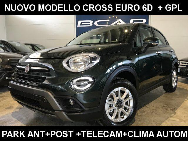 Fiat 500x 1.6 ETorq110CV GPL CROSS ClimaAuto TelPark Mirror