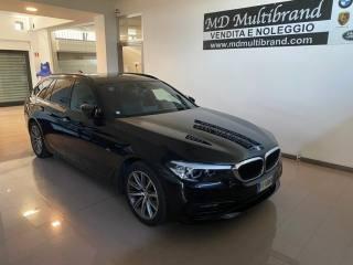 BMW 520 D XDRIVE Touring Sportline+ganciotraino Usata