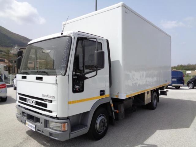 Iveco Lkw/trucks usata EURO CARGO 75E17 con Sponda Idraulica diesel Rif. 10467886