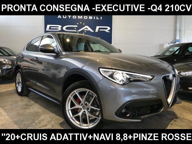 "Alfa Romeo Stelvio km 0 2.2 Td 210 CV AT8 Q4 Executive +Cruis Adattivo+""20 diesel Rif. 10619290"