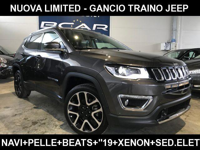 """Jeep Compass km 0 1.6 Mtj II 2WD Limited +Navi 8.4+Pelle+Beats+""""19 diesel Rif. 10619201"""