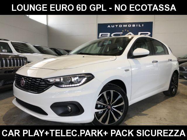 """Fiat Tipo km 0 1.4 5P Lounge GPL Euro 6D +CarPlay+Sens.Telec.+""""17 a gpl Rif. 10732428"""