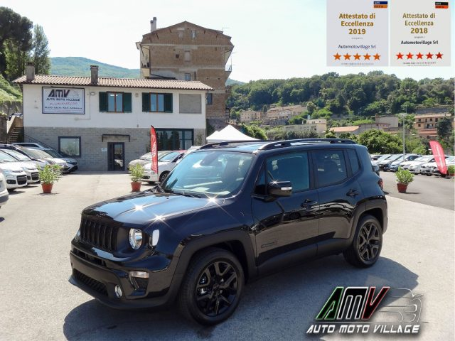 "Jeep Renegade km 0 1.6 Mjt Night Eagle ""MY19""-RESTYLING-APPLE/ANDORID diesel Rif. 10745660"