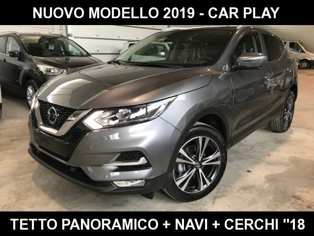 "Nissan Qashqai 1.3 DIG-T 140 CV N-Connecta +Navi+Tetto+""18+Led"