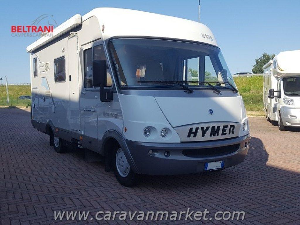 Motorhome, Hymer-Eriba