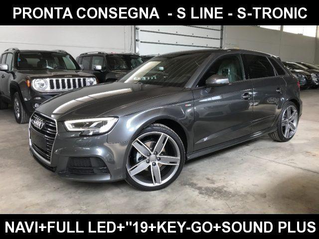 "Audi A3 usata SPB 2.0 TDI S-Tronic S line + Sline Led+""19 S-Line diesel Rif. 10860513"