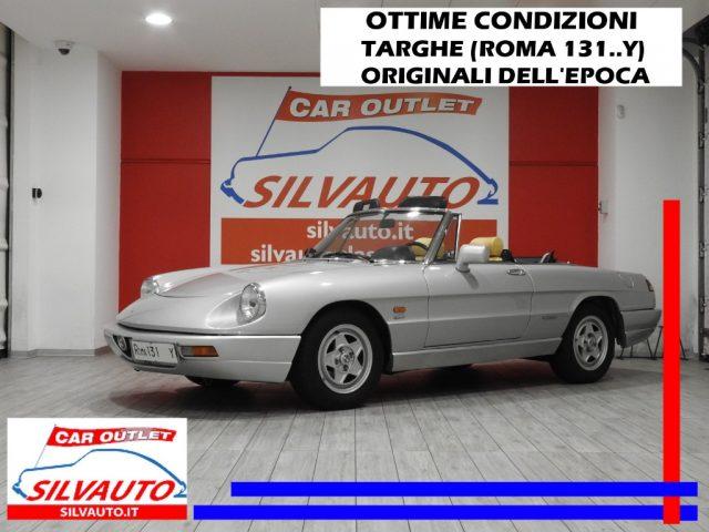 Alfa Romeo Spider usata 2.0 i.e. VELOCE (IV Serie) - ISCRITTA ASI CON CRS a benzina Rif. 10934787