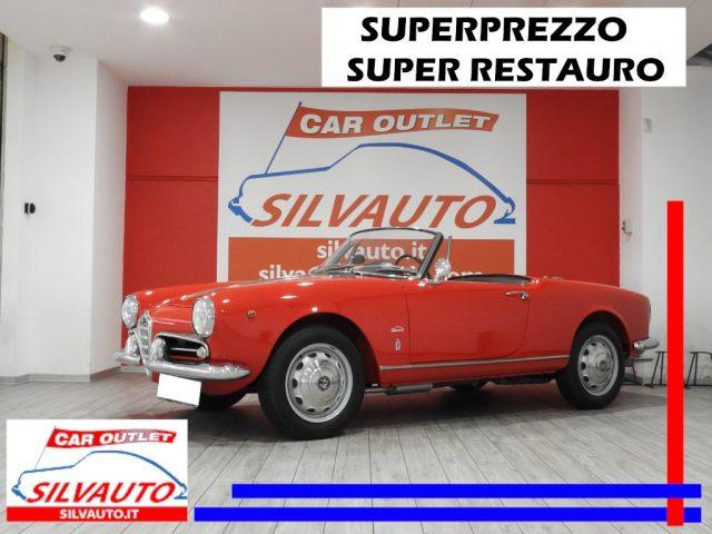 Alfa Romeo Giulietta d'poca 1300 SPIDER 101.03 - RESTAURO TOTALE a benzina Rif. 10934792