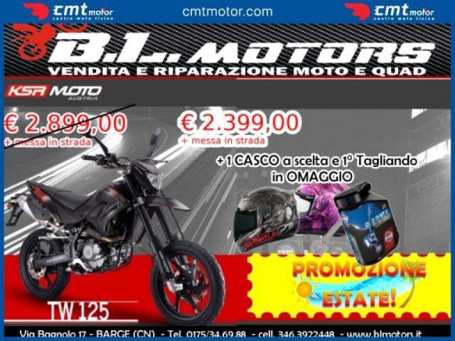 Ksr Moto Tw 125 Sm nuova Garantita e Finanziabile a benzina Rif. 10978805