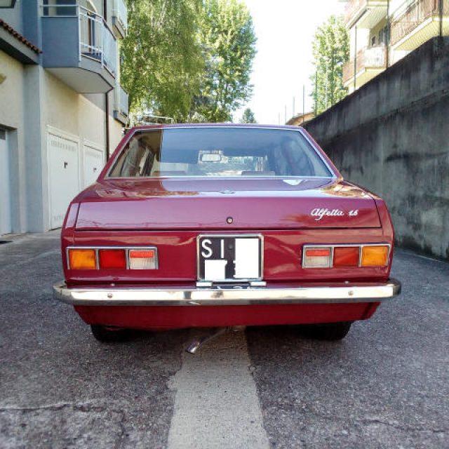 Immagine di ALFA ROMEO Alfetta 1.6 TARGHE NERE ASI OMOL. 116.00