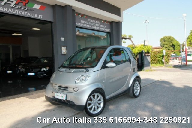 "Smart Fortwo usata 700 coupé PASSION Tetto PANORAMA CLIMA C.L 15"" a benzina Rif. 11066593"