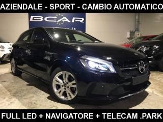 MERCEDES-BENZ A 180 Sport Auto+Sedili Premium +Navi+telec Park+Led+