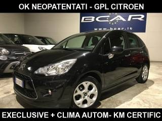 CITROEN C3 1.4 Eco Energy G Exclusive GPL CITROEN KM CERTIFIC Usata
