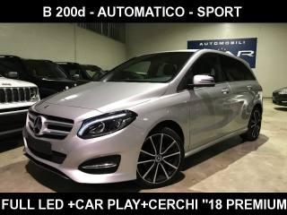 MERCEDES-BENZ B 200 D Automatic Sport +