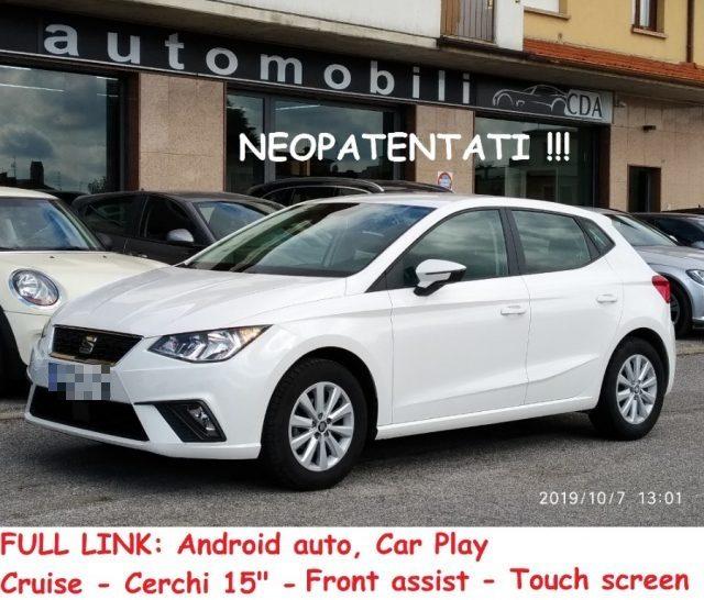 Seat Ibiza usata 1.0 75cv 5p. Style NEOPAT. FULL LINK - DRIVE PACK a benzina Rif. 11285199