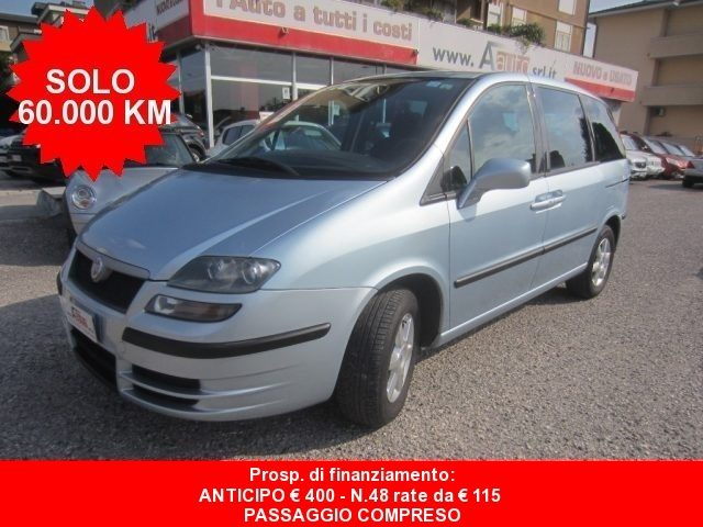 Fiat Ulysse usata 2.2 JTD Dynamic - 8 POSTI - 60000 Km - DA VETRINA diesel Rif. 11312032