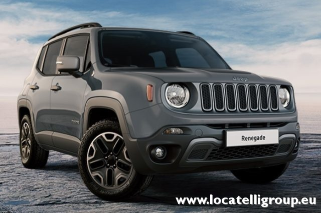 JEEP Renegade Blu pastello