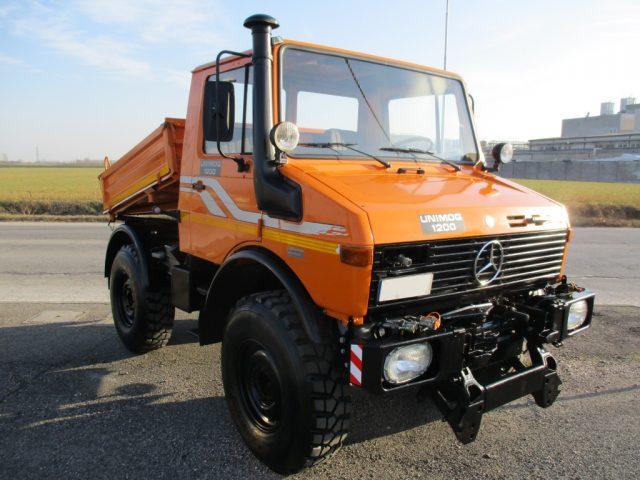Mercedes-benz usata Unimog  U 1200 diesel Rif. 11342469