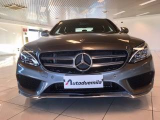 MERCEDES-BENZ C 200 D Auto Premium AMG Km 18799!!! Pelle FULL Option Usata