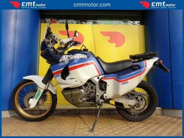 Immagine di HONDA Africa Twin XRV 750 Finanziabile – bianco/blu – 48000