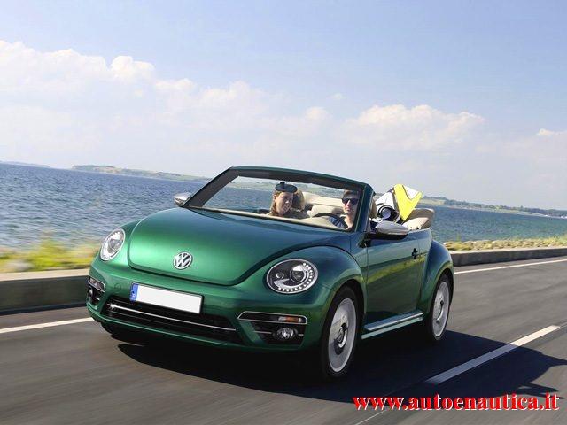 Volkswagen Maggiolino usata Cabrio 1.2 TSI Design BlueMotion Technology a benzina Rif. 11685337