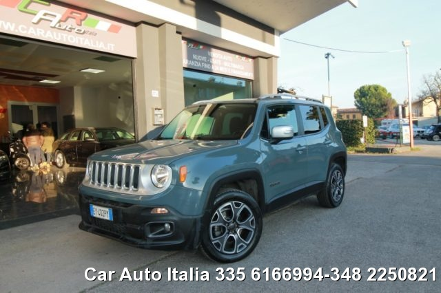 Jeep Renegade usata 2.0 Mjt 140CV 4WD Active Drive Limited AUTOMATICA diesel Rif. 11966557