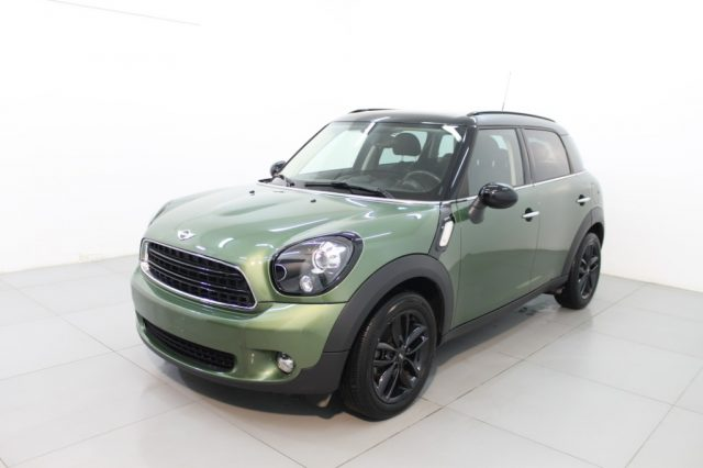 MINI Countryman Green pearled