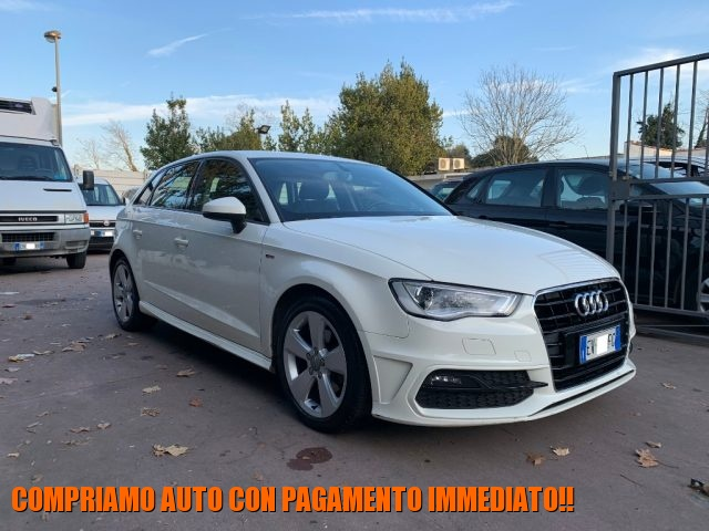 Audi A3 usata SPB 2.0 TDI S tronic Ambition S LINE KM. DOC...!! diesel Rif. 11950132