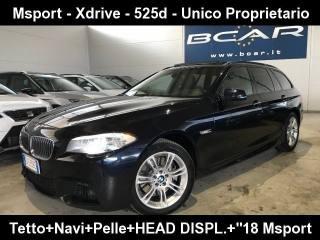 BMW 520 D Touring Msport 525d Xdrive M Sport +Navi+tetto+p Usata