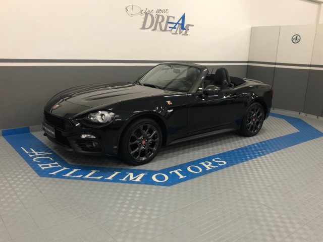 ABARTH 124 Spider Nero metallizzato