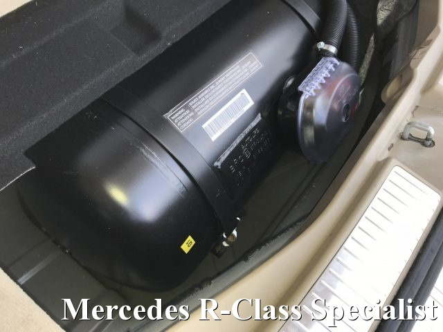 Immagine di MERCEDES-BENZ R 350 GPL EURO 5 LUNGA 4MATIC PANORAMA BOMBOLA 62 LT.