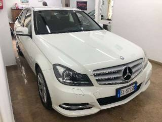 MERCEDES-BENZ C 220 CDI BlueEFFICIENCY Avantgarde Usata