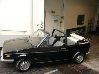 VOLKSWAGEN Golf Cabriolet 1100 Prima Serie-perfette Condizioni-permute Usata
