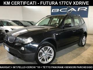BMW X3 2.0d Cat Futura +Tetto+Navi+Xenon+