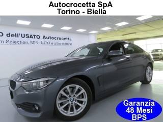 BMW 420 D Gran Coupé Advantage Auto EURO 6 Usata