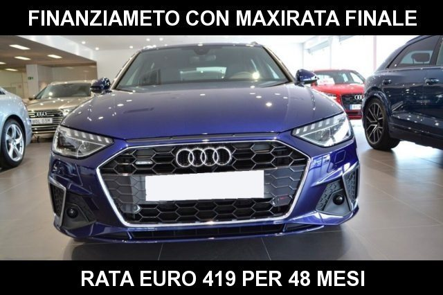 AUDI A4 Avant 40 TDI quattro S tronic S line MY 2020