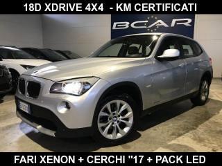 BMW X1 XDrive18d Attiva FARI B-XENON 4X4 / KM CERTIFICATI Usata