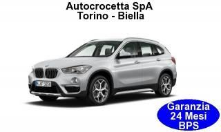 BMW X1 SDrive18d 150hp XLine Auto EURO 6 Usata