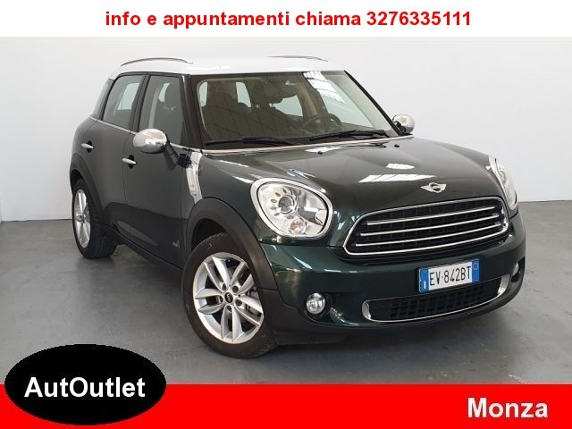 MINI Countryman 2.0 D ALL4 4X4 Cambio Automatico