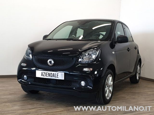SMART ForFour Nero metallizzato